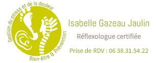 isareflexo Isabelle Gazeau Jaulin Réflexologue certifiée, Pôle Santé Boréal, Rue Aristide Briand, Rezé